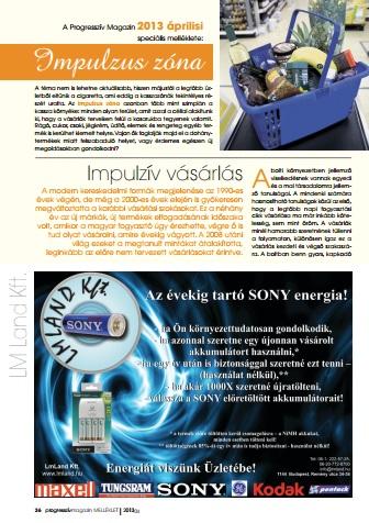 Progresszív magazin 2013